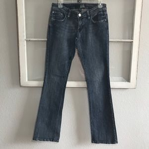 FOX RACING Distressed Low Rise Jeans Size 26